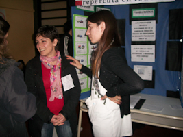 Foto 1 de la Feria de Ciencia 2013